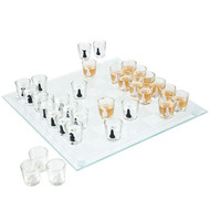 Shot Glass Drinking Game Chess Set - Drinking Game for Adults
