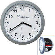 Gambler's Wall Clock Diversion Safe
