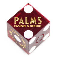 Pair of Authentic Casino Cancelled (Used) Craps Dice - Choose from Over 20 Vegas Casinos!