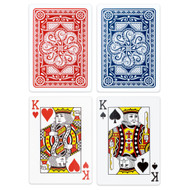 Elite Medusa Back Premium Poker Playing Cards 2-Deck Set - Choose Color!