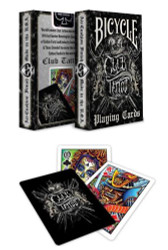 Bicycle Club Tattoo Playing Cards - 1 Deck
