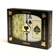 Copag Misto Saraswati 100% Plastic Playing Cards - 2 Deck Set