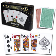 Modiano Beehive 100% Plastic Playing Cards - 2 Deck Set