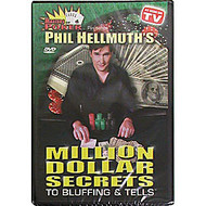 PHIL HELLMUTH'S MILLION DOLLAR SECRETS TO BLUFFING & TELLS DVD