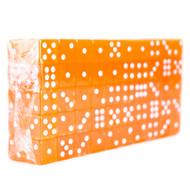 Block of 100 Translucent 16mm Dice - Choose Color!