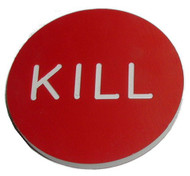 CASINO QUALITY KILL BUTTON - LARGE 2 INCH SIZE!