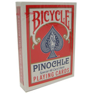 BICYCLE PINOCHLE PLAYING CARDS - 1 DECK