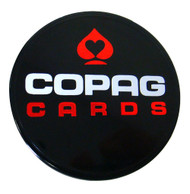 CASINO QUALITY COPAG 2-SIDED POKER DEALER BUTTON