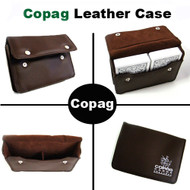 COPAG SYNTHETIC LEATHER CASE - FITS 2 DECKS OF CARDS