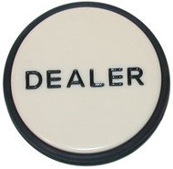 CASINO GRADE LARGE POKER DEALER BUTTON PUCK