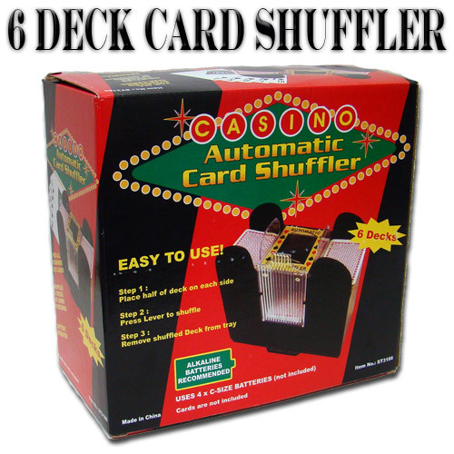 where can i buy a 6 deck shuffler for cards