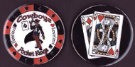 COWBOYS (Pocket Kings) Poker Card Cover