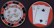DUCKS (Pocket Twos) Poker Card Cover