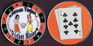 GERMAN VIRGINS (Pocket Nines) Poker Card Cover