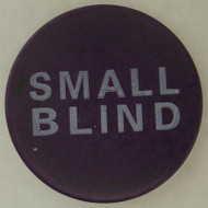 SMALL BLIND CERAMIC Poker Dealer Button - Large 2 Inch Size!