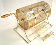 Compact Size Brass Raffle Drum - Holds Up to 2500 Tickets