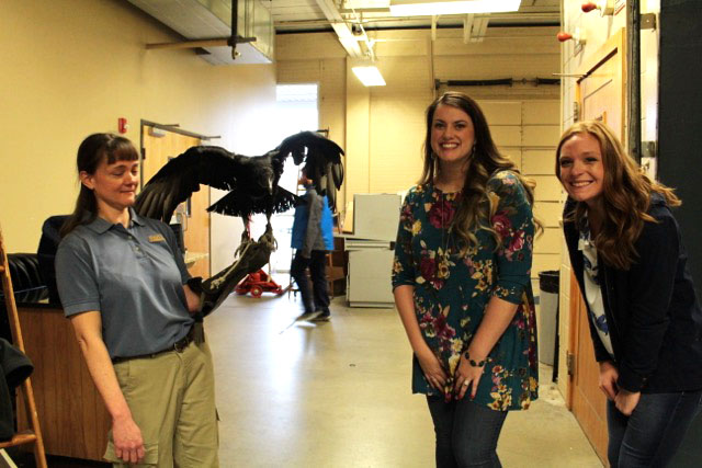 Shelby & I posing with the Vulture