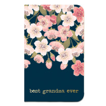 Best Grandma Floral Journal