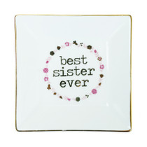 Best Sister Jewelry Tray