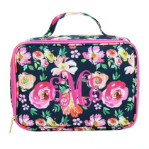 Vintage Floral Lunch Tote