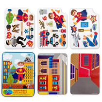Superhero On The Go Magnetic Game