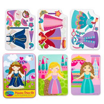 Princess On The Go Magnetic Game