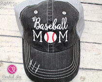 Baseball Mom Trucker Hat (Limited Edition)