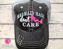 Mermaid Hair Don't Care Trucker Hat (Limited Edition)