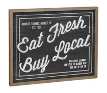 Eat Fresh Box Sign