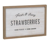 Strawberry Box Sign