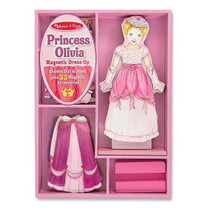 Magnetic Dress Up Set - Princess Olivia