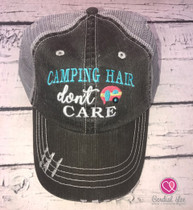 Camping Hair Don't Care Trucker Hat (Limited Edition)