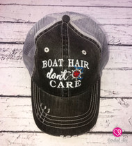 Boat Hair Don't Care Trucker Hat (Limited Edition)