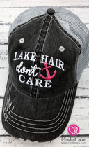 Lake Hair Don't Care Trucker Hat (Limited Edition)