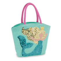 Mermaid Dazzle Tote - Blue