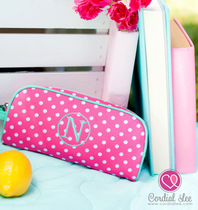 Pink Dottie Pencil Pouch