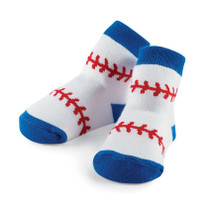 Boys Baby Socks - Baseball