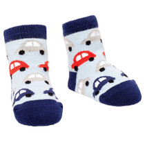 Boys Baby Socks - Bug Car