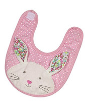 Beth Bunny Applique Bib