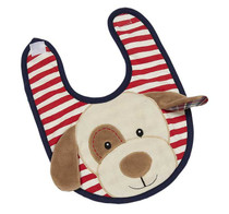 Max Puppy Applique Bib