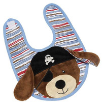 Patch Pirate Applique Bib