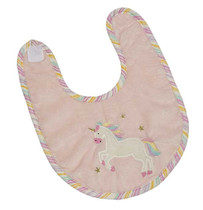 Trixie Unicorn Applique Bib