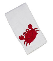Applique Single Burp Cloth - Skipper Crab