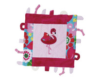 Fannie Flamingo Multi function Blankie