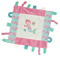 Coral Mermaid Multi function Blankie