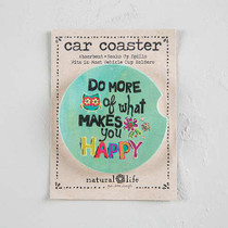 Car Coaster - More Happy