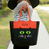 Black Cat Character Tote