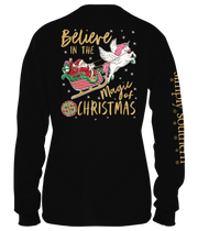 Simply Southern Long Sleeve Tee - Santa