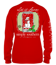 Simply Southern Long Sleeve Tee - Snow