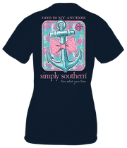 Simply Southern Short Sleeve Tee - Anchor (Youth)